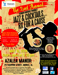 jazz and cocktails, fundraiser